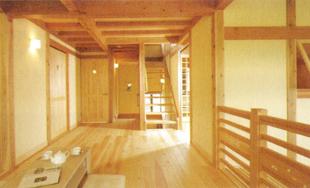 杉・ヒノキ柱の使用例